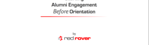 Starting Alumni Engagement Before Orientation