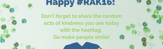 5 Adjectives to Describe Random Acts of Kindness Day 2016 #RAK16