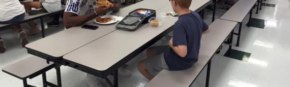 See That Student Sitting Alone at Lunch?