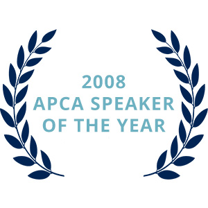 2008 APCA Speaker of the Year