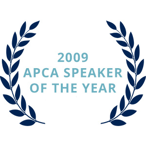 2009 APCA Speaker of the Year