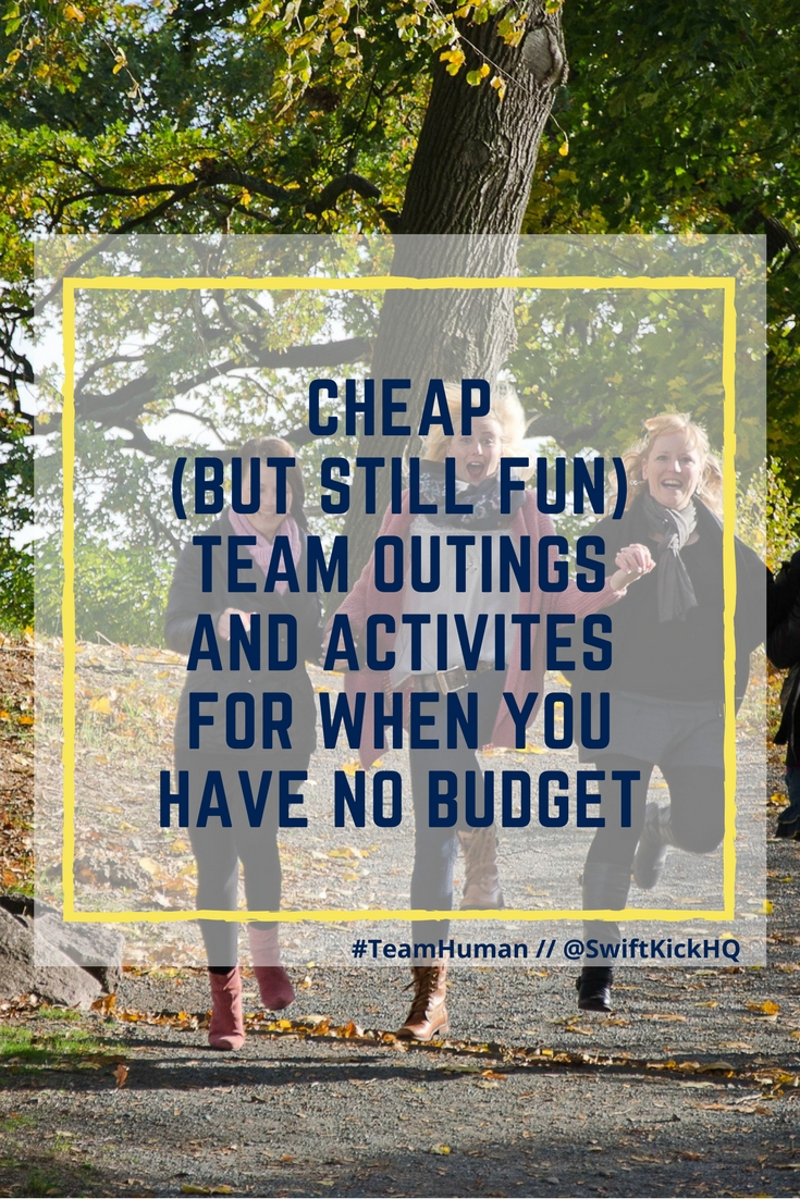 cheap team outings