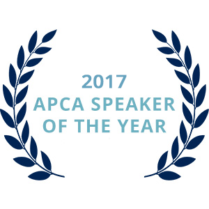 2017 APCA Speaker of the Year