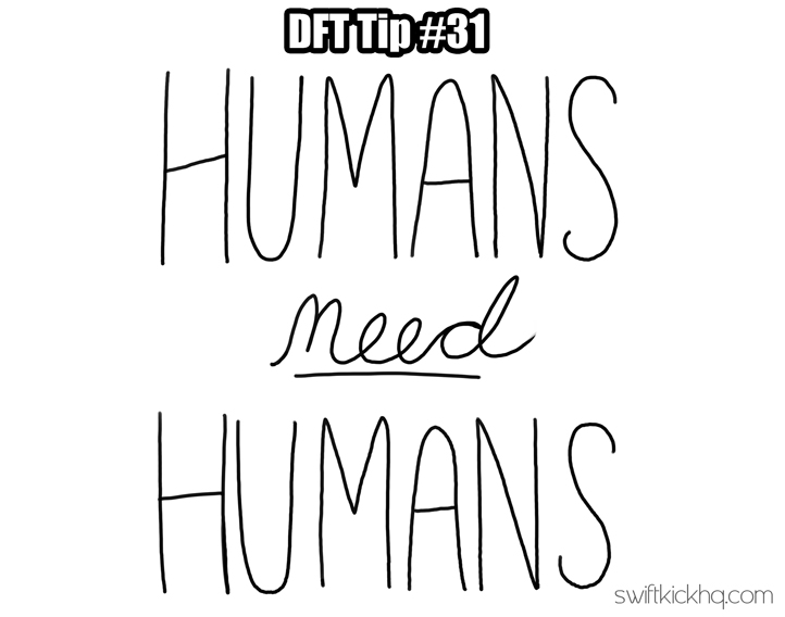humans need humans