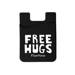 Free Hugs Phone wallet on Swift Kick